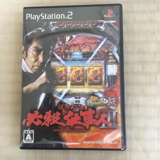 プレイステーション2(PlayStation2)のPS2ソフト ぱちんこ必殺仕事人III パチってちょんまげ達人13(家庭用ゲームソフト)