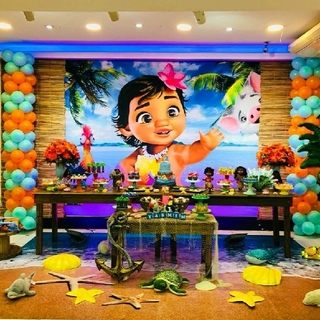 ディズニー(Disney)の【確認用】モアナ 背景布 インスタ映え ウェルカムボード(ポスター)