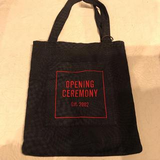 オープニングセレモニー(OPENING CEREMONY)のOPENING CEREMONY ロゴトートバッグ❤️オープニングセレモニー(トートバッグ)