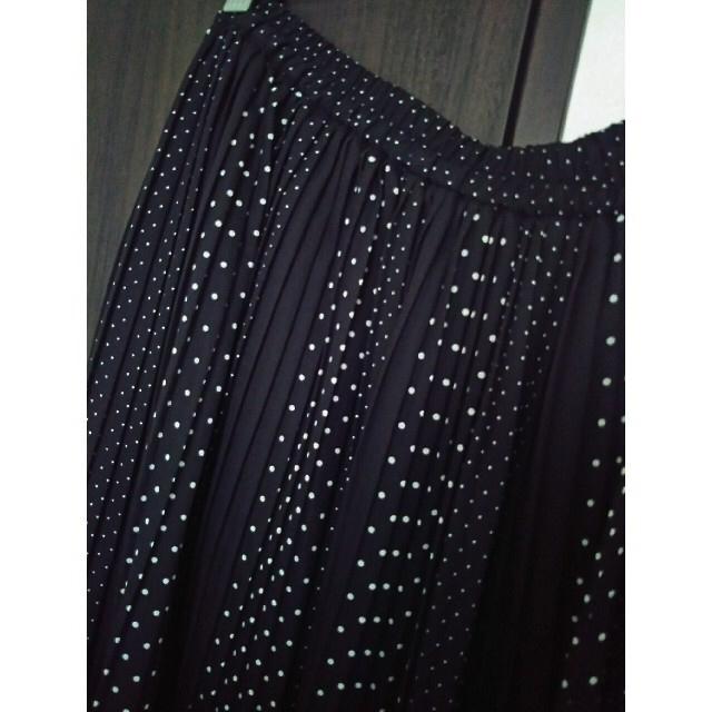 しまむら(シマムラ)のプリーツスカート  4L  大きいサイズ レディースのスカート(ロングスカート)の商品写真