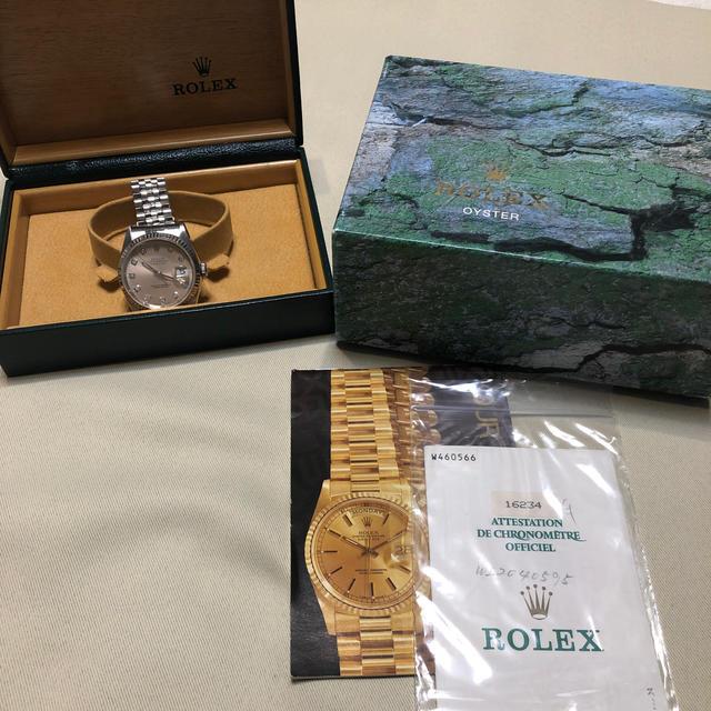 ROLEX(ロレックス)のロレックス DATE JUST メンズの時計(腕時計(アナログ))の商品写真