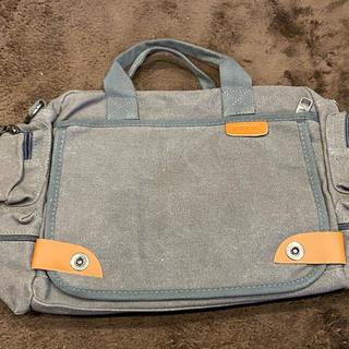ショルダーバッグ グレー ビジネスバッグ メンズ 新品未使用(ビジネスバッグ)