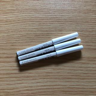 シセイドウ(SHISEIDO (資生堂))の資生堂眉墨鉛筆2番ダークブラウン  アイブロウペンシル未使用未開封 3本セット(アイブロウペンシル)