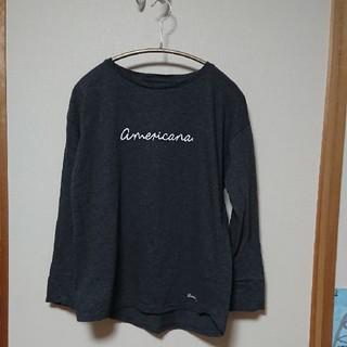 アメリカーナ(AMERICANA)のAmericana長袖Tシャツ(Tシャツ(長袖/七分))