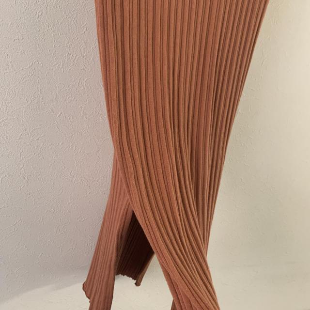 Ungrid(アングリッド)の【美品】ungrid アングリッド ニットワンピース 春夏カラー レディースのワンピース(ひざ丈ワンピース)の商品写真