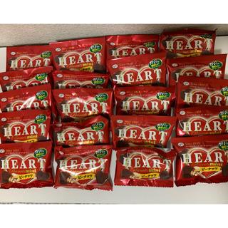不二家 - 値下げ!! 不二家 ハートチョコレート ピーナッツ ミニ 16g×20袋