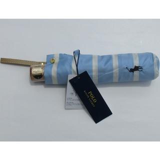 Ralph Lauren - 新品 ラルフローレン 折りたたみ傘 レディース 折り畳み 傘