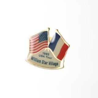 DEUXIEME CLASSE - ドゥーズィエムクラス FLAG ピンバッジ