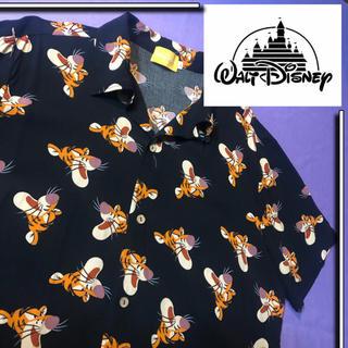Disney - 【タグなし未使用品】Disney ティガー 開襟シャツ