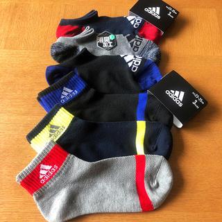 アディダス(adidas)の【新品】スポーツ ブランド ソックス 靴下 6p セット 23cm 25cm(ソックス)