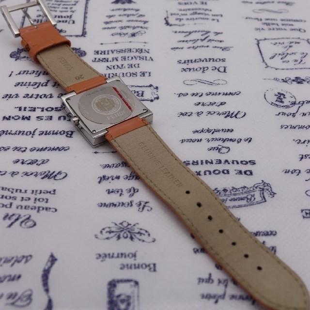 FENDI(フェンディ)の付属品完備【新品電池】FENDI 4000L/未使用品 ピンク 動作品 レディースのファッション小物(腕時計)の商品写真