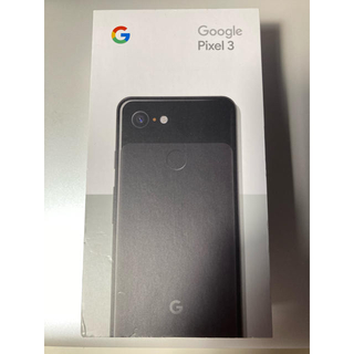 ANDROID - Google グーグル Pixel 3 128GB Just Black