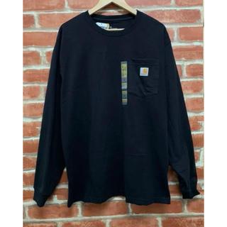 カーハート(carhartt)のcarhartt カーハート  ロンT  長袖  黒 Lサイズ 新品未使用❗️(Tシャツ/カットソー(七分/長袖))