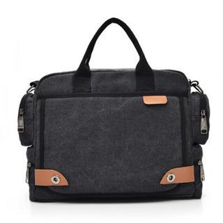 ショルダーバッグ メンズ ブラック ビジネスバッグ 新品未使用(ビジネスバッグ)