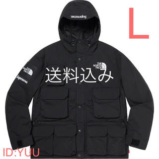 THE NORTH FACE - 【L】SUPREME NORTH FACE Cargo Jacket 黒