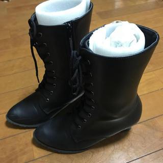 袴用 編み上げブーツ (ブーツ)