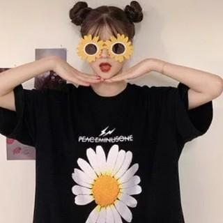 ザラ(ZARA)の韓国トレンドフラワー ストリート系 夏のTシャツ トップス レディース 即日発送(Tシャツ(半袖/袖なし))