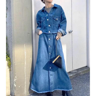 Ameri VINTAGE - 今季 4way denim dress coat