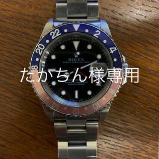 ROLEX - ロレックス ROLEX GMT MASTER 16700 オールトリチウム T番
