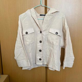 シマムラ(しまむら)のシャツ ベージュ(シャツ/ブラウス(半袖/袖なし))