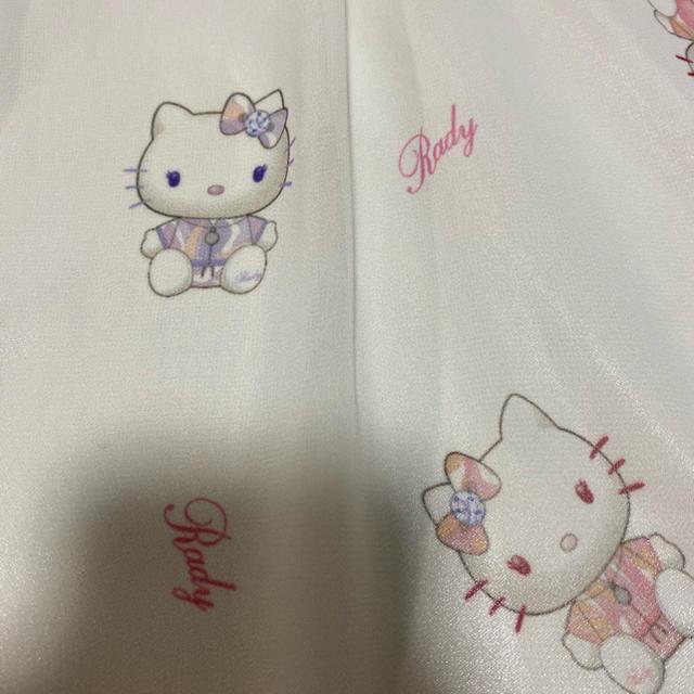 Rady(レディー)のRady キティちゃんノースリーブ レディースのトップス(Tシャツ(半袖/袖なし))の商品写真