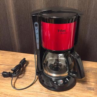 T-fal - T-fal コーヒーメーカー SURITO レッド 赤 メイカー 新品未使用