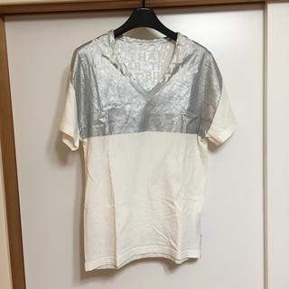 マルタンマルジェラ(Maison Martin Margiela)のマルタン マルジェラ 半袖Tシャツ エイズ(Tシャツ(半袖/袖なし))