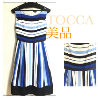 TOCCA - TOCCA❀*優美で上品✨絶妙な配色ワンピース✨