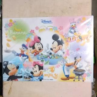 ディズニー(Disney)の【新品】ランチョンマット&コースター(テーブル用品)