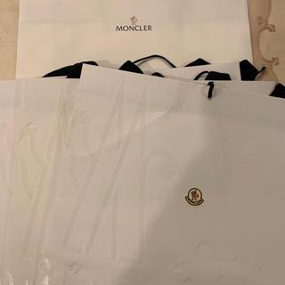 モンクレール(MONCLER)のモンクレール ショッパー ショップ袋 ブランド紙袋 MONCLER 大サイズ(ショップ袋)
