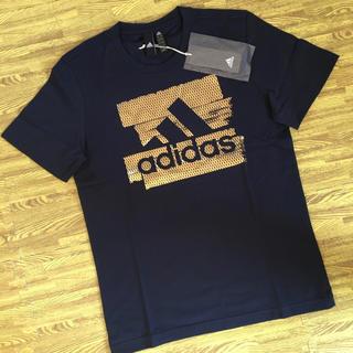 アディダス(adidas)の【新品】アディダス Tシャツ サイズO(XL)レジェンドインクxゴールド(Tシャツ/カットソー(半袖/袖なし))