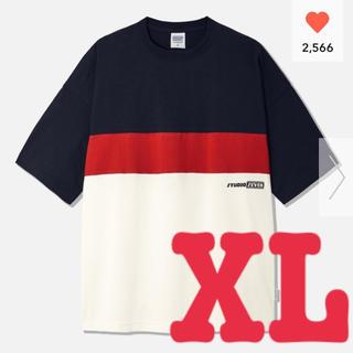 ジーユー(GU)の【新品・タグ付】オーバーサイズT5分袖STUDIO SEVEN 1+X(Tシャツ/カットソー(半袖/袖なし))