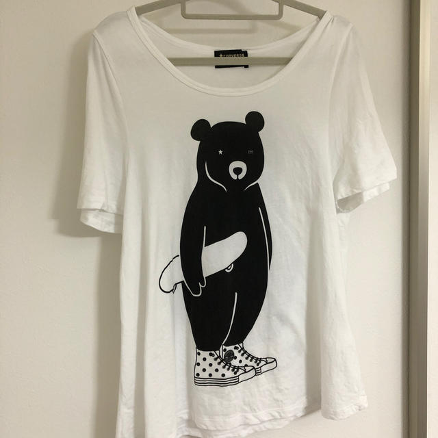 CONVERSE(コンバース)のTシャツ レディースのトップス(Tシャツ(半袖/袖なし))の商品写真