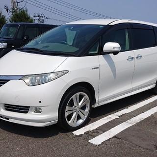トヨタ - 平成18年式 エスティマハイブリッド G 7人乗 純正エアロ装着車 HDDナビ付