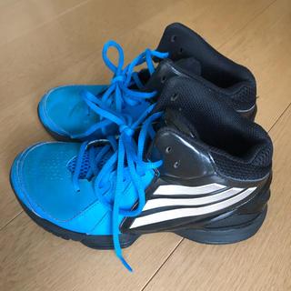 アディダス(adidas)のキッズ 22cm バスケットシューズ(バスケットボール)