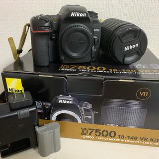 Nikon - Nikon D7500 一眼レフ