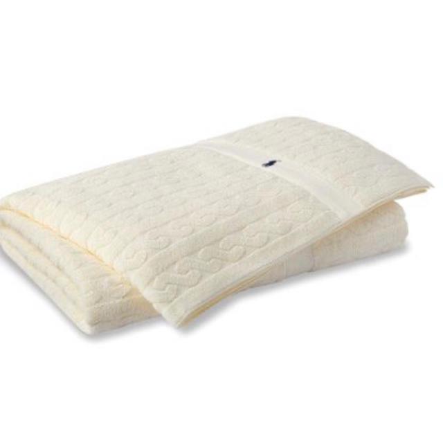 Ralph Lauren(ラルフローレン)のラルフローレン  タオルケット ポロ キッズ/ベビー/マタニティの寝具/家具(タオルケット)の商品写真