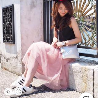 ジーユー(GU)のGU ジーユー * チュールスカート(ひざ丈スカート)