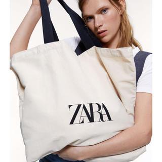 ZARA - ZARA♡ショッピングトートバッグ