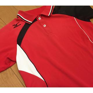 MIZUNO - ミズノ ゲームシャツ バドミントン テニス ウエア 半袖 ポロシャツ M