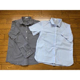 ジーユー(GU)のGU    トップス 夏服(シャツ/ブラウス(半袖/袖なし))