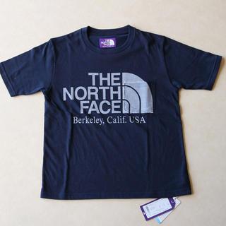 ザノースフェイス(THE NORTH FACE)の新品 ノースフェイスパープルレーベル ロゴ入りポケットTシャツ レディース(Tシャツ(半袖/袖なし))