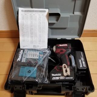 マキタ(Makita)のmakita マキタTD171DGXAR充電式インパクトドライバー 新品未使用品(工具)