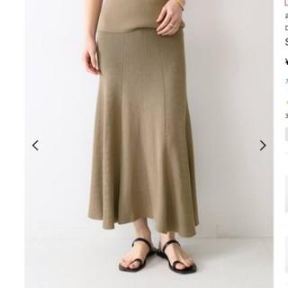 DEUXIEME CLASSE - ドゥーズィエムクラス SWING RIB スカート