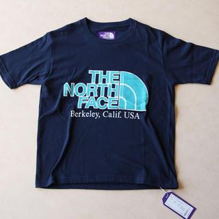 ザノースフェイス(THE NORTH FACE)のノースフェイスパープルレーベル ロゴ入りH/S Graphic Tee(Tシャツ(半袖/袖なし))