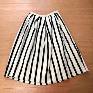 Drawer - Drawer ストライプ スカート