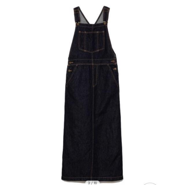 Mila Owen(ミラオーウェン)のMilaOwen♡リネン混ジャンパースカート レディースのスカート(ロングスカート)の商品写真