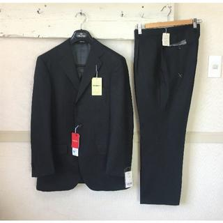 REGAL - S997★新品リーガルREGALスーツ 三つ釦A6黒 消臭 形状記憶 抗菌 撥水