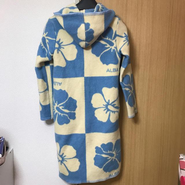 ALBA ROSA(アルバローザ)のアルバローザ升目ブランケットコート♡ レディースのジャケット/アウター(ロングコート)の商品写真