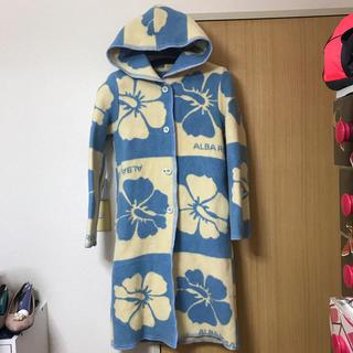 アルバローザ(ALBA ROSA)のアルバローザ升目ブランケットコート♡(ロングコート)